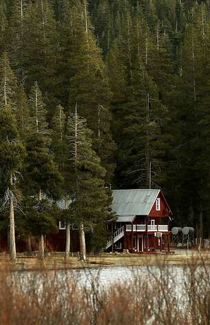 The Webber Lake Hotel, built in 1860, is the only one of 30 lodges still standing along the well-used stagecoach route. Photo: Michael Macor, The Chronicle
