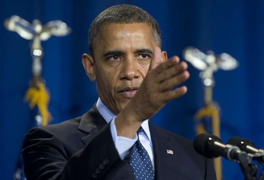 Barack Obama Photo: Saul Loeb, AFP/Getty Images