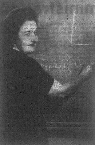"Mrs. Marjorie P. Behringer, a finalist in the ""National Teacher of the Year"" awards program, tries to get her biology class at Alamo Heights High School to concentrate on the day's lesson. Published in the San Antonio Express Dec. 20, 1962. Photo: File Photo"