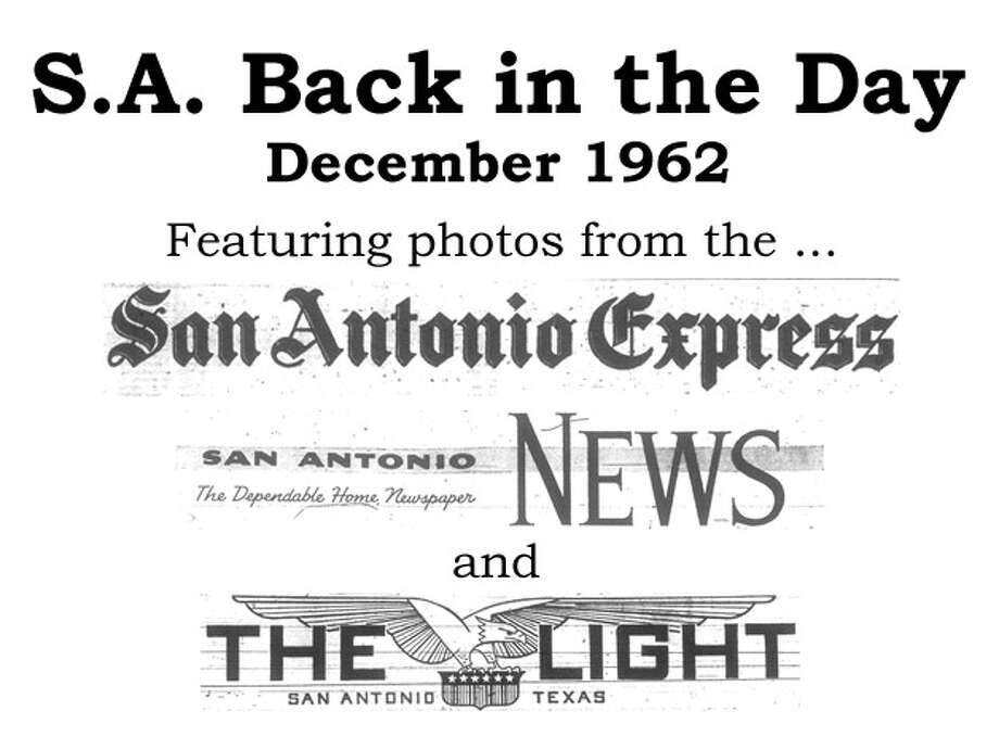 We've combed through the San Antonio Express, San Antonio News and San Antonio Light archives to bring you the best photos from the Alamo City 50 years ago, for the most part using the original photo captions, with exceptions to provide more information. Enjoy! Compiled by Merrisa Brown, mySA.com. Photo: File Photo