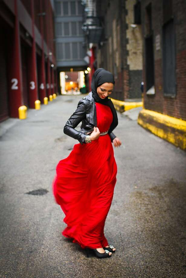 "Shaz Kaiseruddin: ""The hijab is as American as blue jeans."" Photo: American Hijab Design Contest"