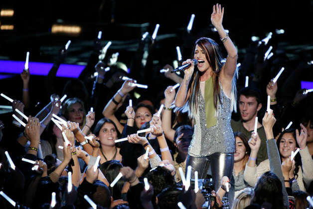 THE VOICE -- Live Show Episode 321A -- Pictured: Cassadee Pope -- (Photo by: Tyler Golden/NBC) Photo: NBC, Tyler Golden/NBC / 2012 NBCUniversal Media, LLC