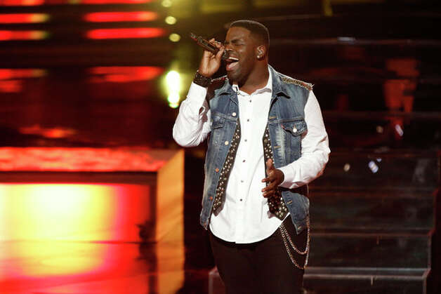 THE VOICE -- Live Show Episode 321A -- Pictured: Trevin Hunte -- (Photo by: Tyler Golden/NBC) Photo: NBC, Tyler Golden/NBC / 2012 NBCUniversal Media, LLC