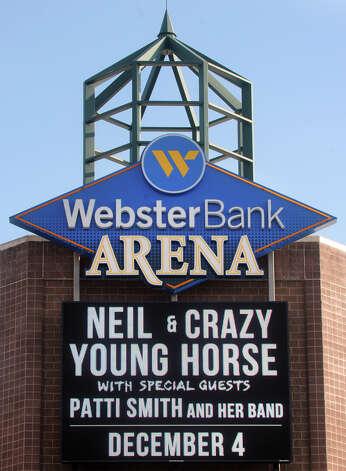 Neil Young & Crazy Horse will headline a concert at the Webster Bank Arena, in Bridgeport, Conn. on Tuesday. Photo: Ned Gerard / Connecticut Post