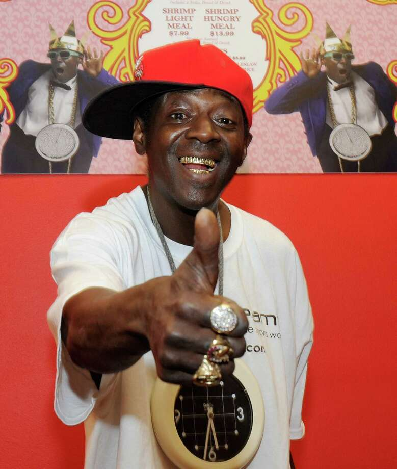 Flavor Flav: The Public Enemy star has allegedly racked up a tax bill of $906,250 dating back to 2004. Photo: Ethan Miller, Getty Images / 2012 Getty Images