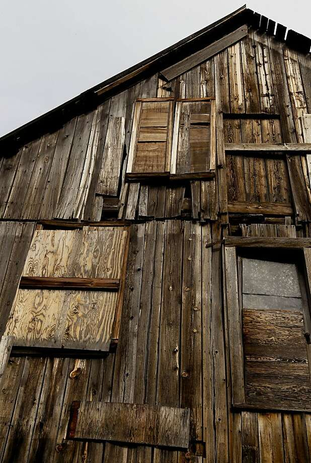 An old wooden structure part of the Webber Lake fish camp a private resort on the lake near Truckee, Calif.  on Tuesday Nov. 27, 2012. The fishing resort will continue to operate for the next four years until being turned over the the Land Trust. About 3,000 acres of scenic backcountry in the Sierra Nevada north of Truckee will be permanently protected under a deal announced last week by two conservation groups. Webber Lake and Lacey Meadows, located at the headwaters of the Little Truckee River, will be opened to the public for the first time in more than 100 years under the agreement. The Truckee Donner Land Trust and Trust for Public Land bought the land for $8 million from Clifton and Barbara Johnson, whose family had owned the property for nearly a century. The Johnsons used Lacey Meadows for summer sheep grazing. Photo: Michael Macor, The Chronicle