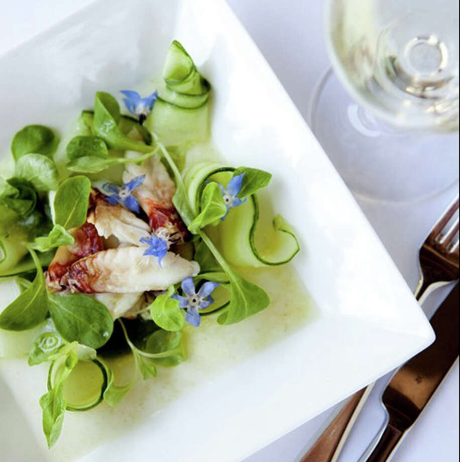 Waterbar: Dungeness crab salad