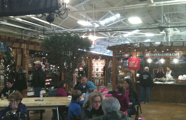 The interior of the new SoNo Market Place in Norwalk, which houses 45 vendors selling different kinds of foods under one roof. Photo: Patti Woods / Fairfield Citizen contributed