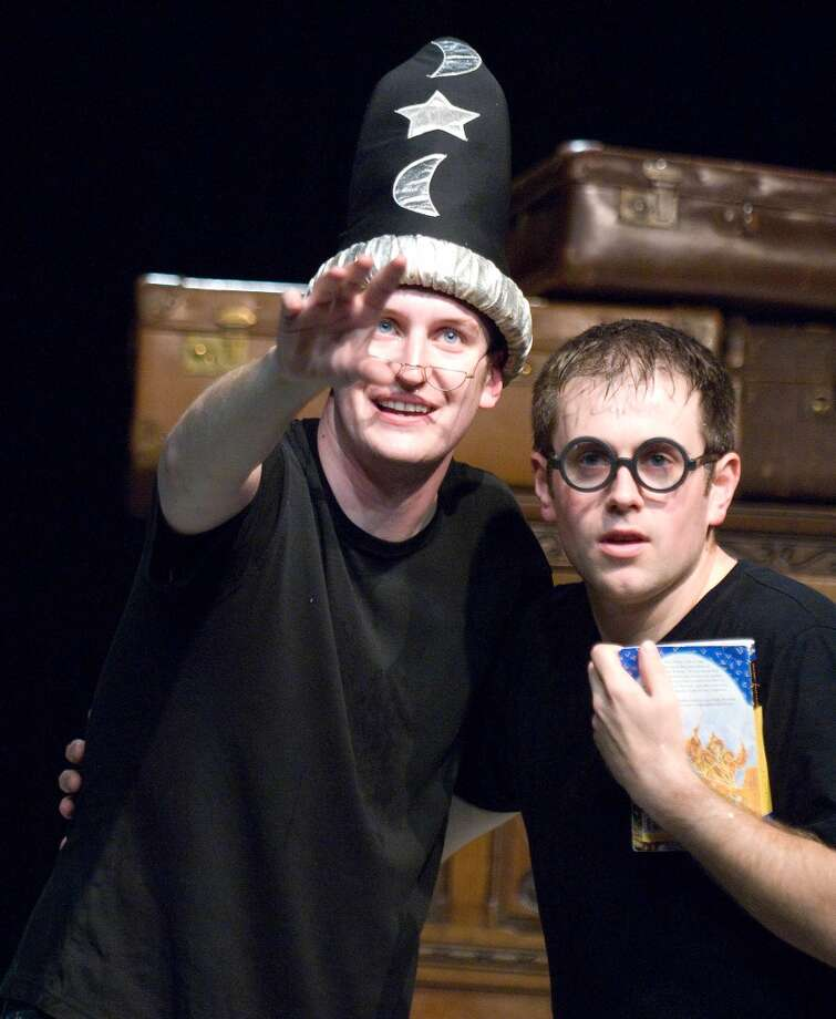 Potted Potter, a two-man version of the Harry Potter saga.  (Geraint Lewis)