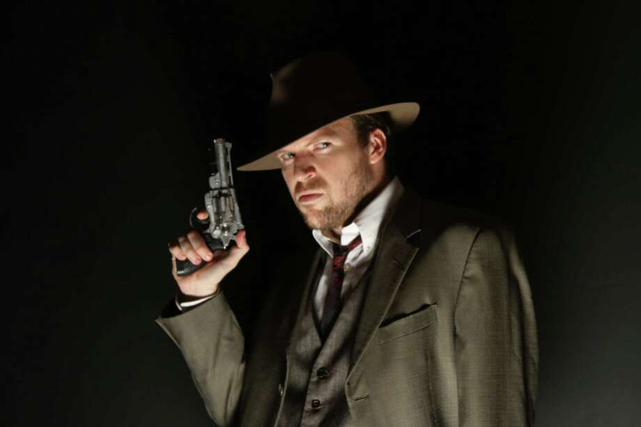 """Michael Burger plays a private eye in the Overtime Theater's """"Hell and Back."""" Courtesy Overtime Theater Photo: Courtesy Overtime Theater"""