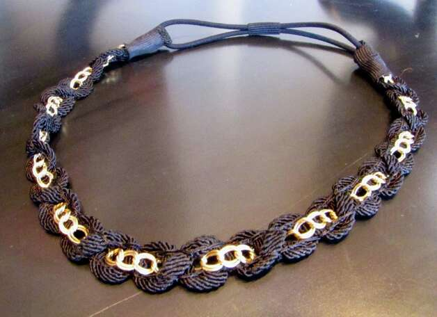 Woven Chain Headband, Splash of Karma, Nederland, $19