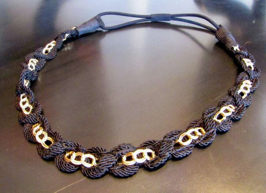 Woven Chain Headband, Splash of Karma, Nederland, $19