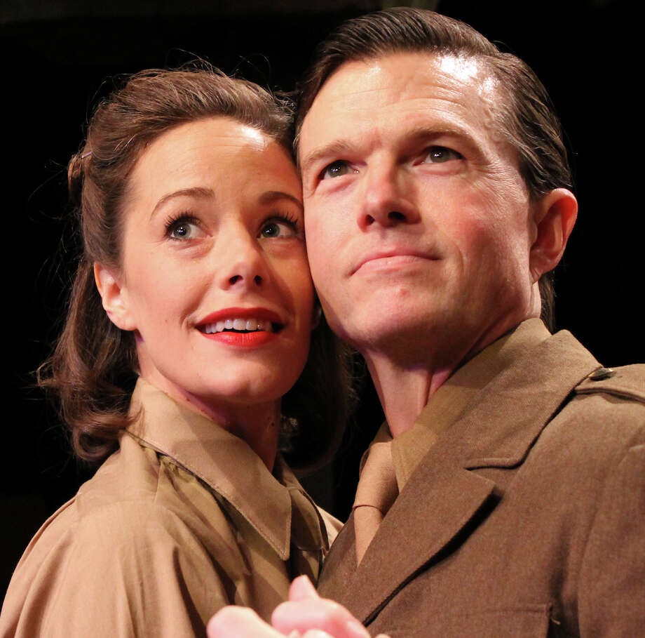 "Crystal O'Brien and Joel Sandel are in Main Street Theater's ""Love Goes to Press."" Photo: Main Street Theater"