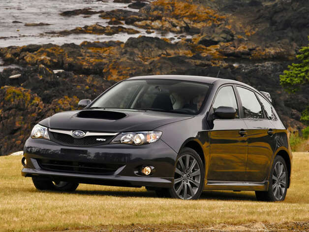 "How could the rally-inspired Impreza not make the list? Subaru even went so far as to declare the WRX the ""official vehicle"" of the zombie apocalypse. Now, we think that's just being presumptuous, but the WRX's all-wheel-drive platform is competition-tested and can make quick getaways through varying weather and terrain conditions. We say: Give us a box of jerky, a baseball bat, some bottled water, and a WRX, and bring out your undead! Photo: Popular Merchanics"