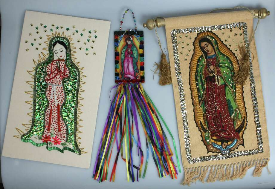 Virgen de Guadalupe handmade décor