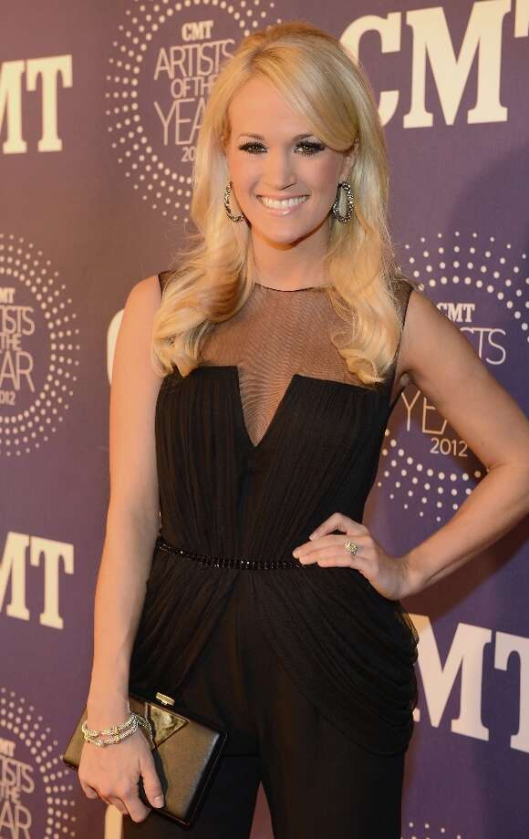 Carrie Underwood attends 2012 CMT Artists Of The Year at The Factory at Franklin on December 3, 2012 in Franklin, Tennessee.  (Photo by Rick Diamond/Getty Images for CMT) Photo: Rick Diamond, Getty Images For CMT / 2012 Getty Images