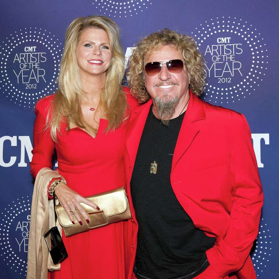 Kari Karte and Sammy Hagar attend the 2012 CMT Artists Of The Year Awards at The Factory At Franklin on December 3, 2012 in Franklin, Tennessee.  (Photo by Erika Goldring/Getty Images) Photo: Erika Goldring, Getty Images / 2012 Getty Images