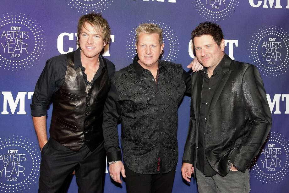 (L-R) JoeDon Rooney, Gary LeVox and Jay DeMarcus of Rascal Flatts attend the 2012 CMT Artists Of The Year Awards at The Factory At Franklin on December 3, 2012 in Franklin, Tennessee.  (Photo by Erika Goldring/Getty Images) Photo: Erika Goldring, Getty Images / 2012 Getty Images