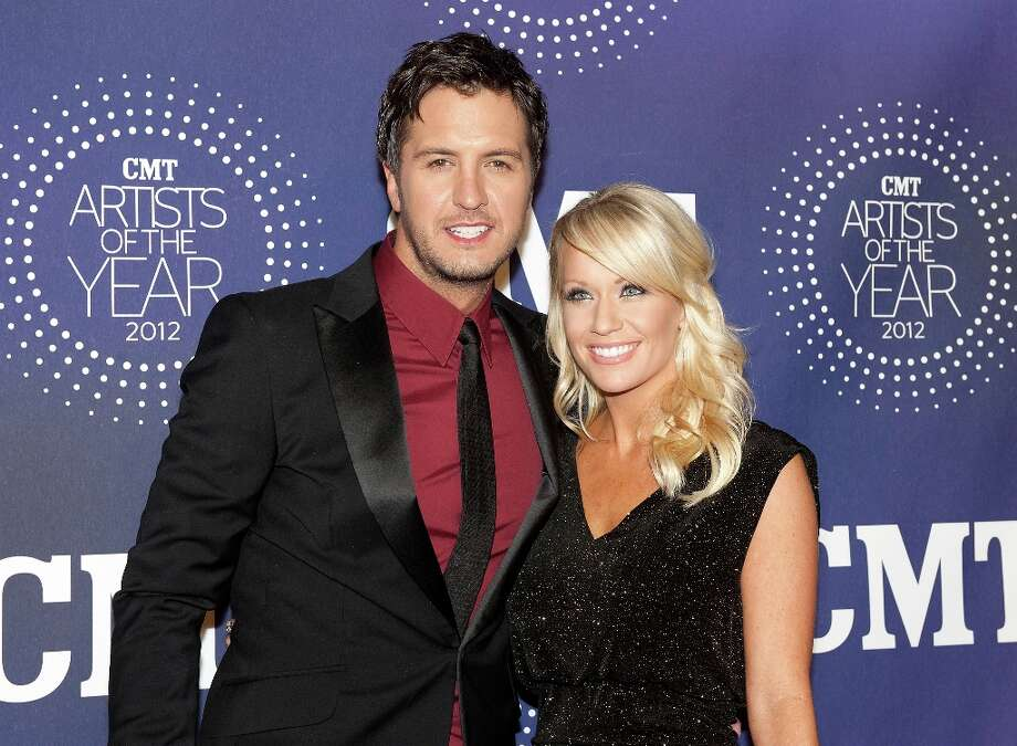 Luke Bryan and Caroline Boyer attend the 2012 CMT Artists Of The Year Awards at The Factory At Franklin on December 3, 2012 in Franklin, Tennessee.  (Photo by Erika Goldring/Getty Images) Photo: Erika Goldring, Getty Images / 2012 Getty Images