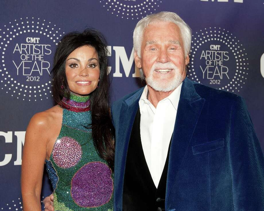 Wanda Rogers and Kenny Rogers attend the 2012 CMT Artists Of The Year Awards at The Factory At Franklin on December 3, 2012 in Franklin, Tennessee.  (Photo by Erika Goldring/Getty Images) Photo: Erika Goldring, Getty Images / 2012 Getty Images
