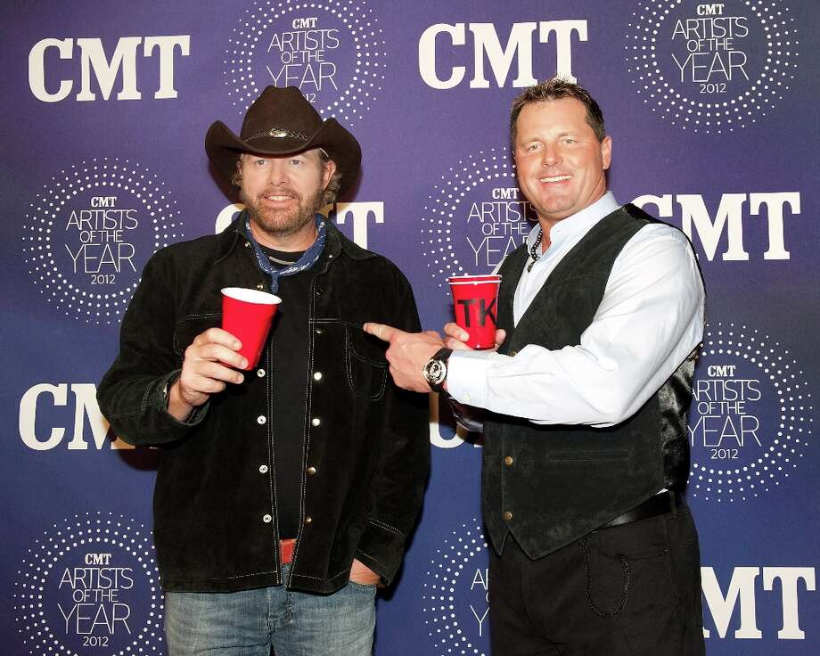 Toby Keith and Roger Clemens attend the 2012 CMT Artists Of The Year Awards at The Factory At Franklin on December 3, 2012 in Franklin, Tennessee.  (Photo by Erika Goldring/Getty Images) Photo: Erika Goldring, Getty Images / 2012 Getty Images
