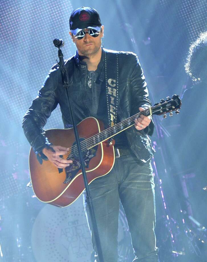 Eric Church performs onstage during the 2012 CMT Artists Of The Year at The Factory at Franklin on December 3, 2012 in Franklin, Tennessee.  (Photo by Rick Diamond/Getty Images for CMT) Photo: Rick Diamond, Getty Images For CMT / 2012 Getty Images