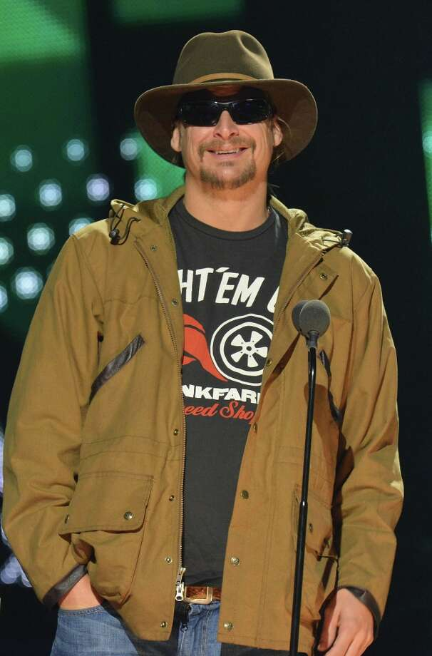Kid Rock speaks onstage during the 2012 CMT Artists Of The Year at The Factory at Franklin on December 3, 2012 in Franklin, Tennessee.  (Photo by Rick Diamond/Getty Images for CMT) Photo: Rick Diamond, Getty Images For CMT / 2012 Getty Images