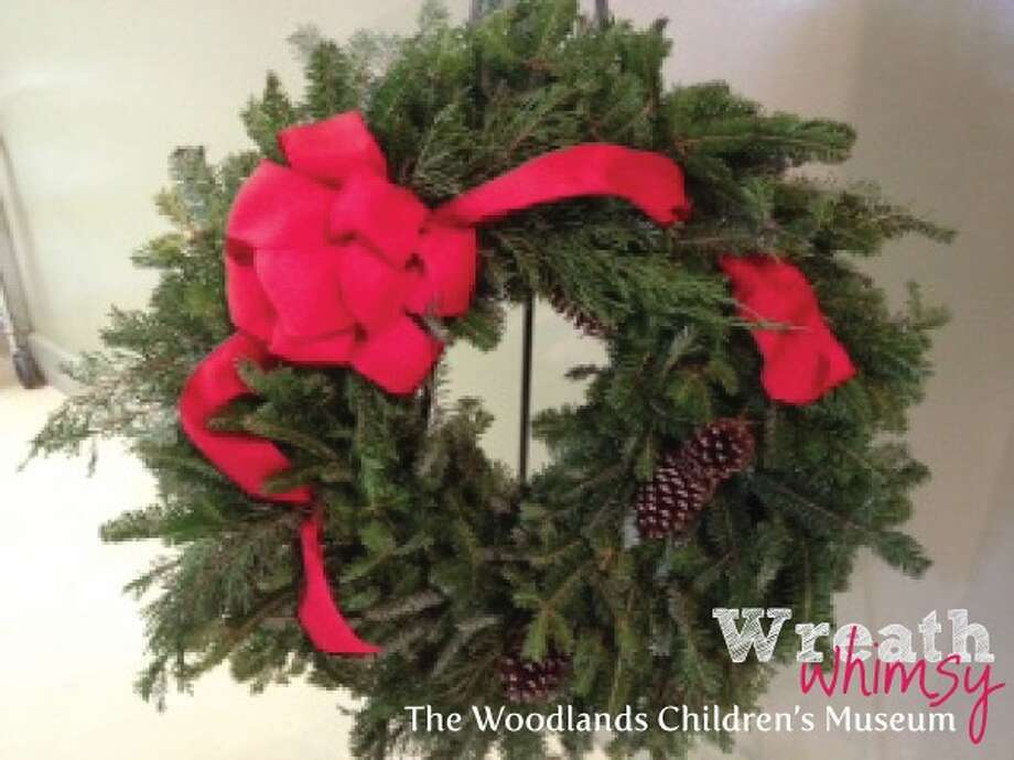 The sale of Wreath Whimsy wreaths supports the Woodlands Children's Museums' exhibits and programs Photo: Contributed Photo