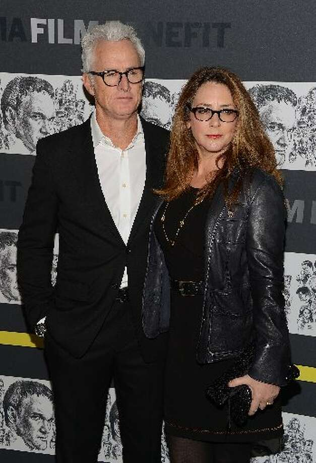 (L-R) John Slattery and Talia Balsam attend The Museum of Modern Art Film Benefit Honoring Quentin Tarantino at MOMA on December 3, 2012 in New York City. (Photo by Andrew H. Walker/Getty Images) (Getty)