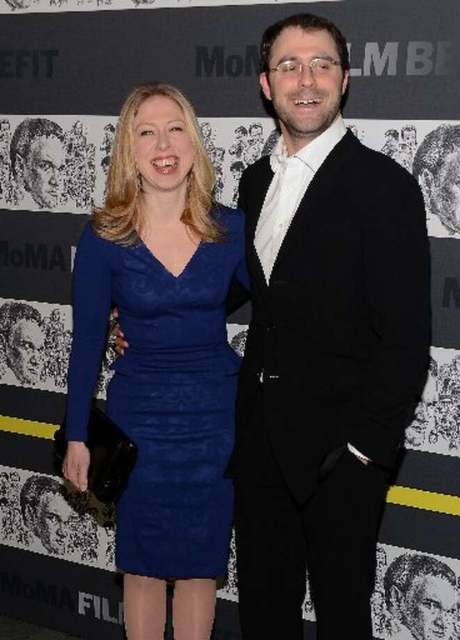 (L-R) Chelsea Clinton and Marc Mezvinsky attend The Museum of Modern Art Film Benefit Honoring Quentin Tarantino at MOMA on December 3, 2012 in New York City. (Photo by Andrew H. Walker/Getty Images) (Getty)