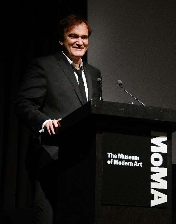 Filmmaker Quentin Tarantino speaks at The Museum of Modern Art Film Benefit Honoring Quentin Tarantino at MOMA on December 3, 2012 in New York City. (Photo by Andrew H. Walker/Getty Images) (Getty)