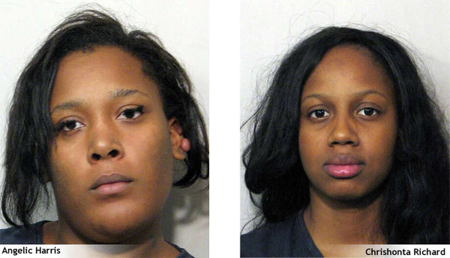 Angelic Harris and Chrishonta Richard, both of Houston, were charged with aggravated robbery in a Nov. 12 pepper spray incident outside a Target store. Photo: Sugar Land PD