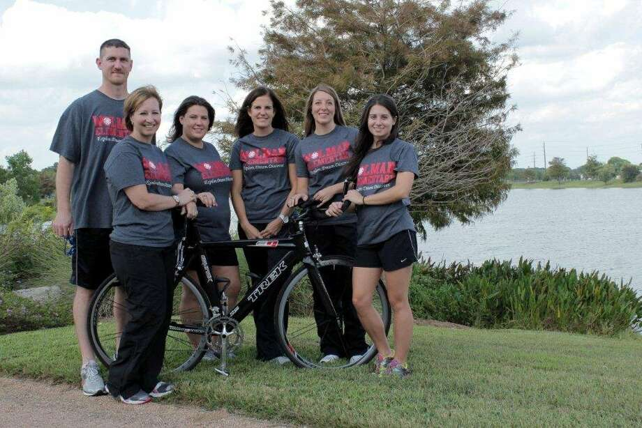 Read, Deed Run Katy Triathlon relay mixed team members include James Wylie, swimming; Courtney Calfee, swimming; Jennifer Studdard, biking; Shelly Kiteley, biking; Angie Sticker and Erin Hauhe, both running. The all-female team is composed of Calfee, Sticker and Kiteley. Both teams set an example of being physically fit for Katy-area students. The mixed team finished fourth and the all-female team finished second in the recent 20th annual triathlon. Team participation also helped raised money for the Katy Rotary Club, which provides scholarships to Katy area students.Read, Deed Run Katy Triathlon relay mixed team members include James Wylie, swimming; Courtney Calfee, swimming; Jennifer Studdard, biking; Shelly Kiteley, biking; Angie Sticker and Erin Hauhe, both running. The all-female team is composed of Calfee, Sticker and Kiteley. Both teams set an example of being physically fit for Katy-area students. The mixed team finished fourth and the all-female team finished second in the recent 20th annual triathlon. Team participation also helped raised money for the Katy Rotary Club, which provides scholarships to Katy area students. Photo: Courtesy, Erika Head