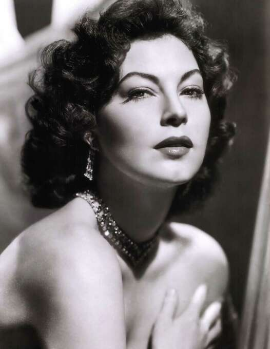 Ava Gardner:  Until she drank it away, she was devastating.