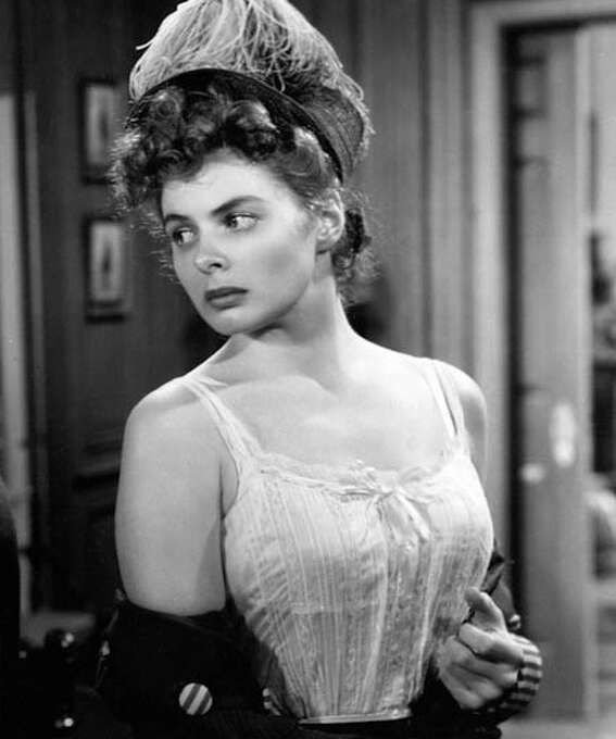 Ingrid Bergman:  Always beautiful, and occasionally -- as in DR. JEKYLL AND MR. HYDE (1941) -- more than that. (thanks lb4usc) Photo: GoneMovie.com / GoneMovie.com