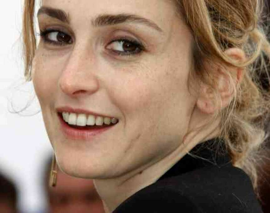 Julie Gayet:  Contemporary French actress with an insinuating playfulness and a smile that could melt anybody.