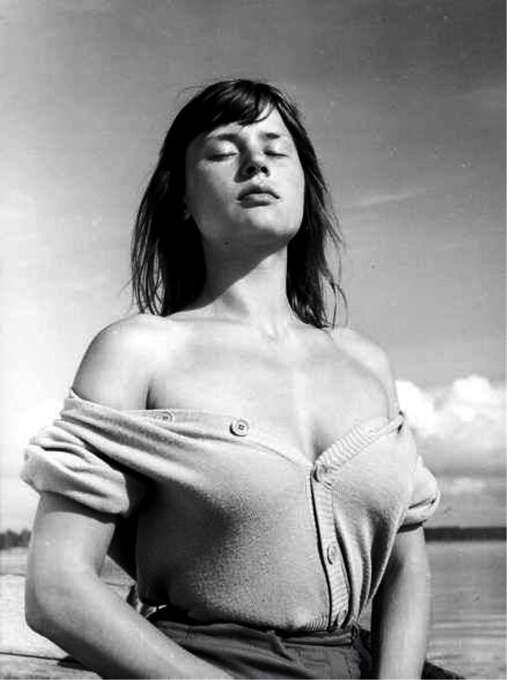 Harriet Andersson:  The sexiest of the Bergman women and still a livewire when I interviewed her a few years ago, at 76.