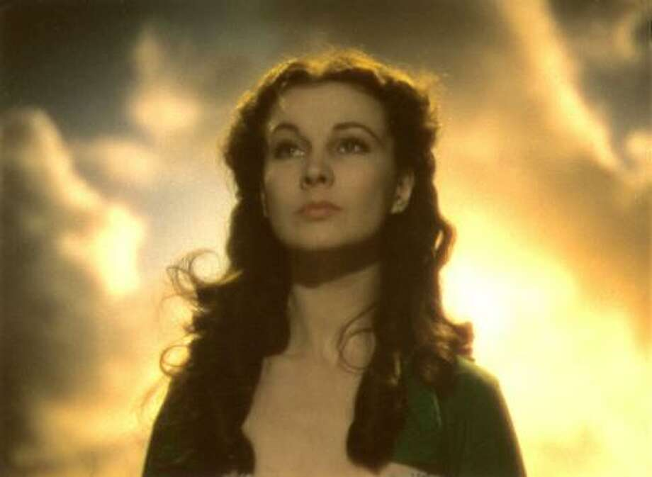 Vivien Leigh in a scene from the climax of WAR HORSE.  No, GONE WITH THE WIND. (thanks, Jennifer G.)