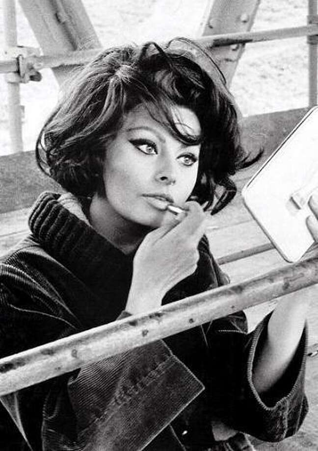 Sophia Loren:  Honestly I don't see it, probably because she is a dead ringer for my paternal grandmother.  So I'm going to assume this is my problem, not yours.