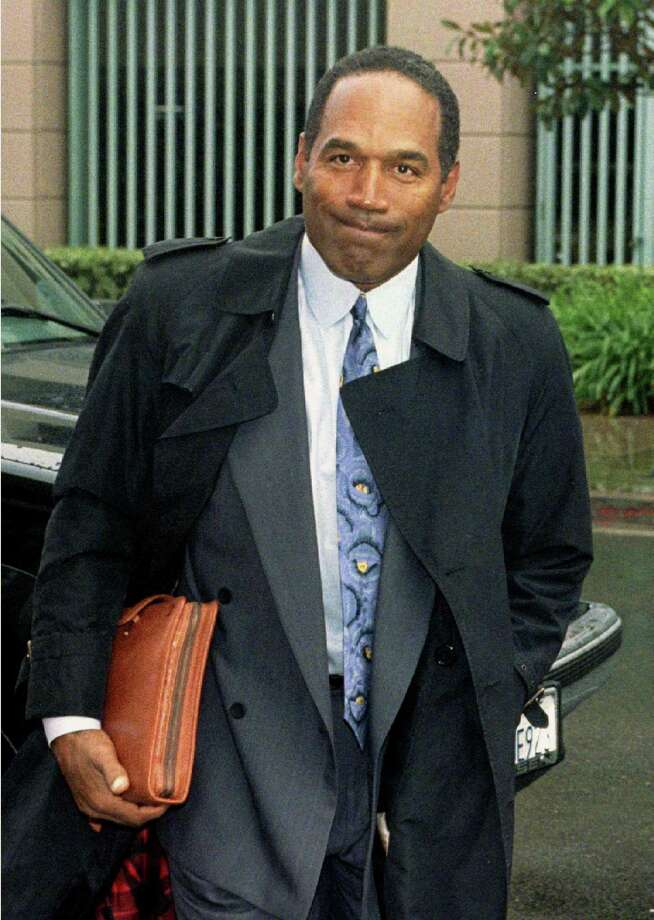O.J. Simpson —Back before O.J. was accused of killing Nicole, he made quite a post-football career as an actor. He was in The Towering Inferno, Roots and The Naked Gun movies, among others. Photo: SAM MIRCOVICH, REUTERS / X90064