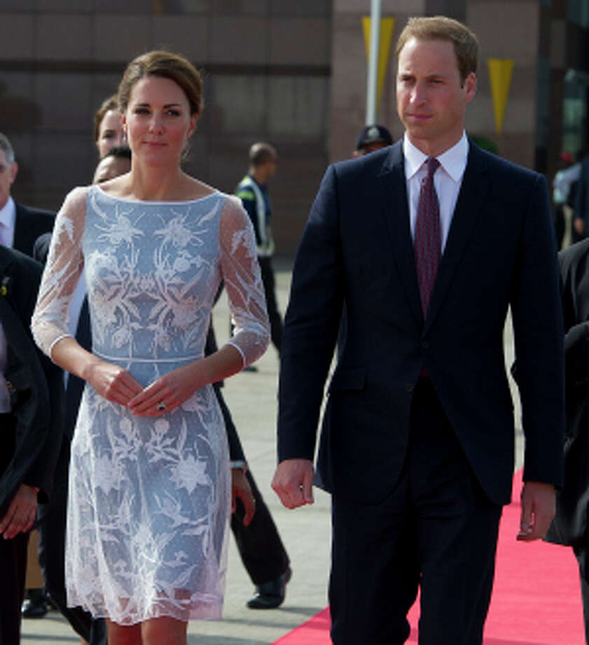 Royal: Thirty-seven percent of respondents said they and theirs are going as Will, Kate and wee baby George. Photo: Pool, Getty Images / 2012 Getty Images