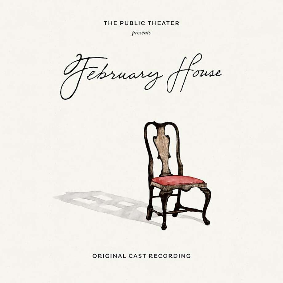 "CD cover for the cast recording of ""February House."" Photo: Story Sound Records"