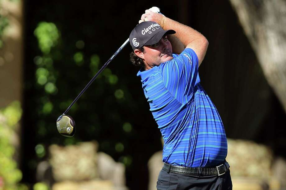 Steven Bowditch hits a tee shot during Q-School on Monday in La Quinta, Calif. Photo: Jeff Golden, Getty Images / 2012 Getty Images