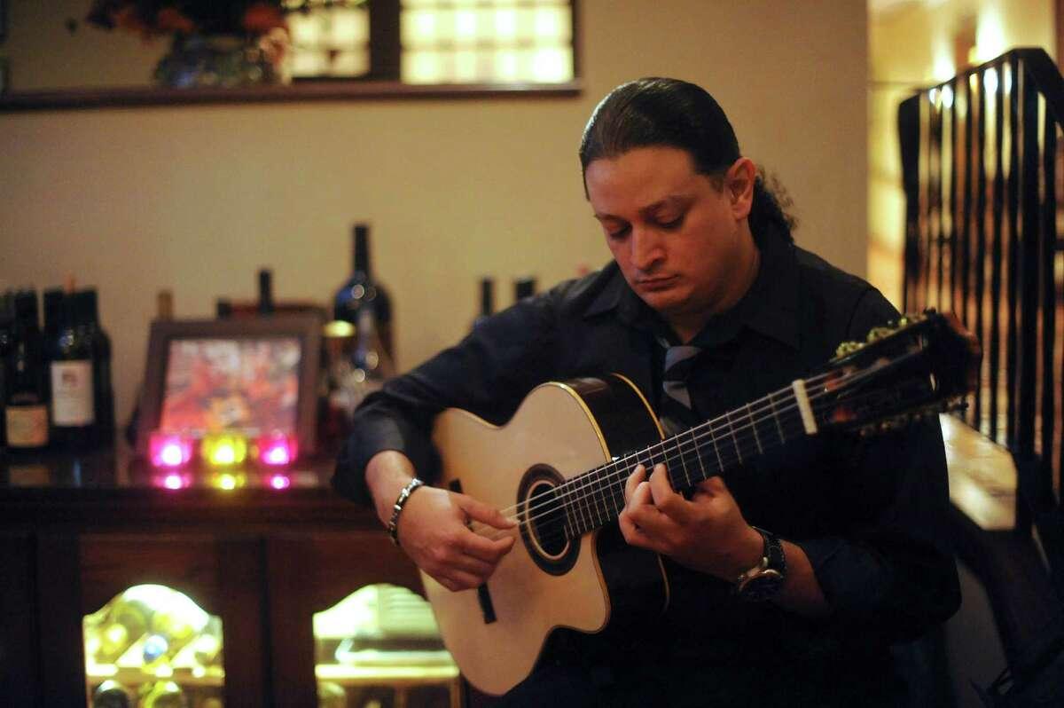 Chris Arispe is the hand-picked successor of flamenco guitarist Willie