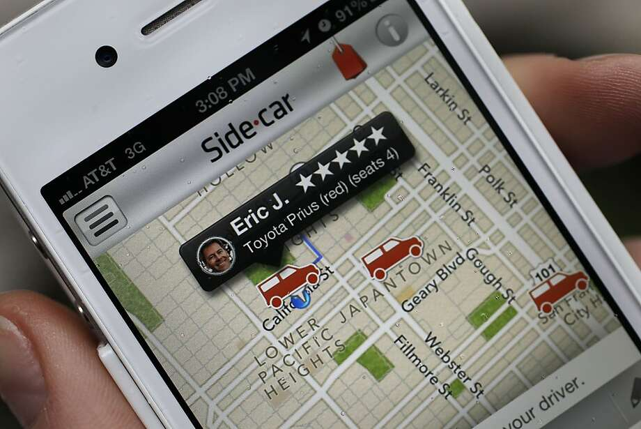 Web-based ride-sharing services are coming under fire from regulators over licensing. Photo: Michael Macor, The Chronicle