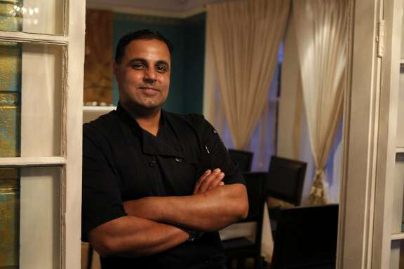 Chef and owner Sachin Chopra poses for a portrait at All Spice in San Mateo, Calif., on Friday, March 4, 2011. He will open Game, a new restaurant slated to open in the former Masa's space in San Francisco before the end of the summer.