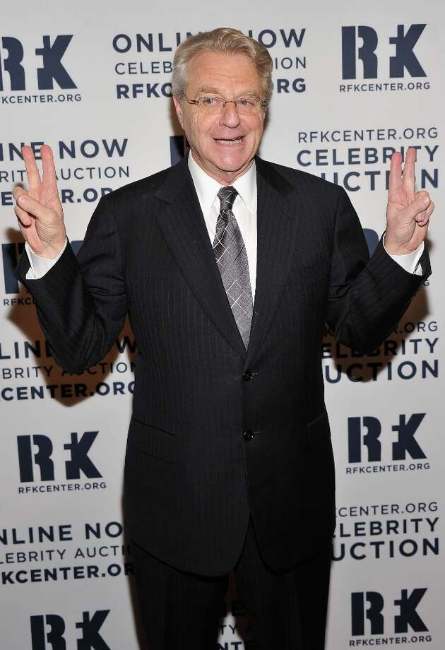 TV host Jerry Springer attends the 2012 Ripple Of Hope Gala at The New York Marriott Marquis on December 3, 2012 in New York City.  (Photo by Stephen Lovekin/Getty Images) Photo: Stephen Lovekin, Getty Images / 2012 Getty Images