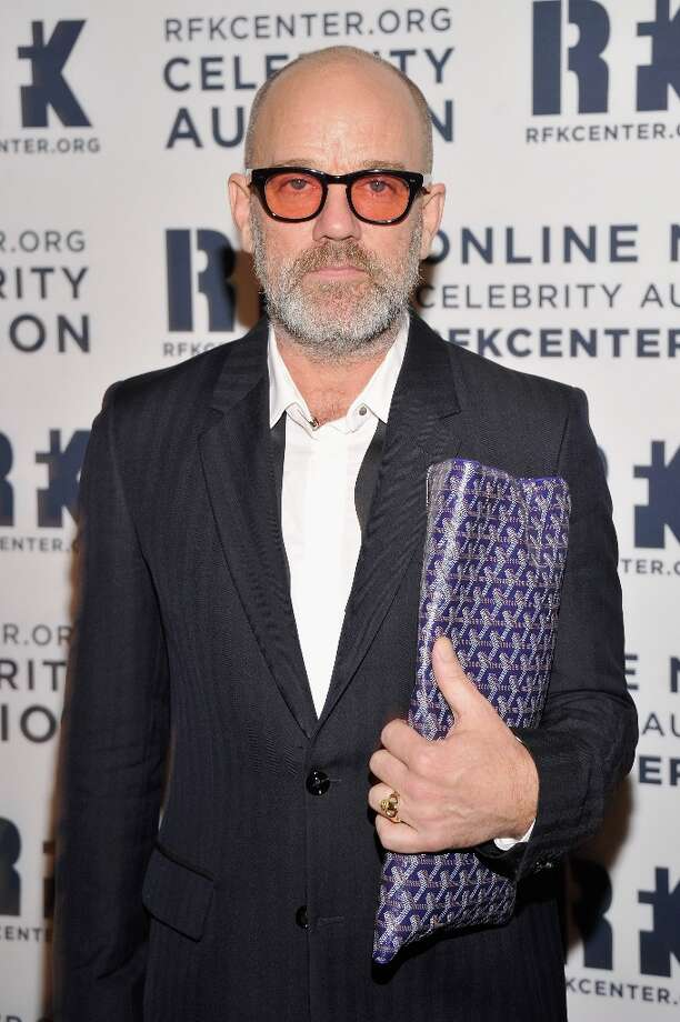 Michael Stipe attends the 2012 Ripple Of Hope Gala at The New York Marriott Marquis on December 3, 2012 in New York City.  (Photo by Stephen Lovekin/Getty Images) Photo: Stephen Lovekin, Getty Images / 2012 Getty Images