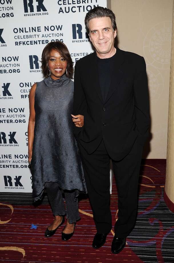 Actress Alfre Woodard and husband Roderick Spencer attend the Robert F. Kennedy Center for Justice and Human Rights 2012 Ripple of Hope awards at the Marriott Marquis Hotel on Monday Dec. 3, 2012 in New York. (Photo by Evan Agostini/Invision/AP) Photo: Evan Agostini, Associated Press / Invision