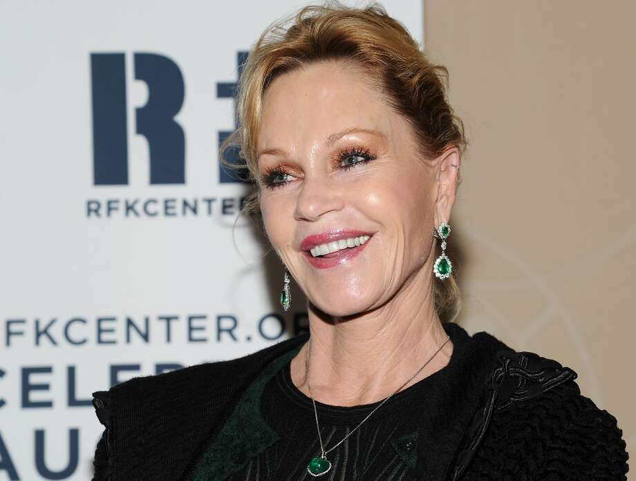 Actress Melanie Griffith attends the Robert F. Kennedy Center for Justice and Human Rights 2012 Ripple of Hope awards at the Marriott Marquis Hotel on Monday Dec. 3, 2012 in New York. (Photo by Evan Agostini/Invision/AP) Photo: Evan Agostini, Associated Press / Invision